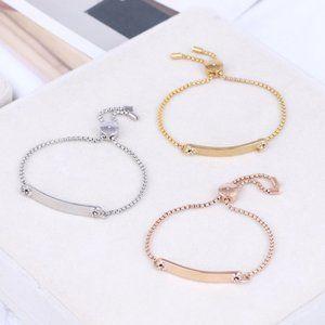 Michael Kors Gold-Plated Adjustable Bracelet